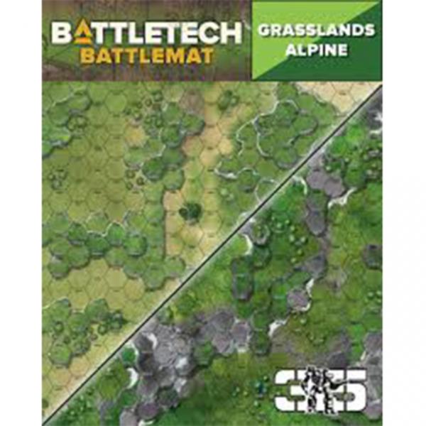 BattleTech Battle Mat: Grasslands Alpine
