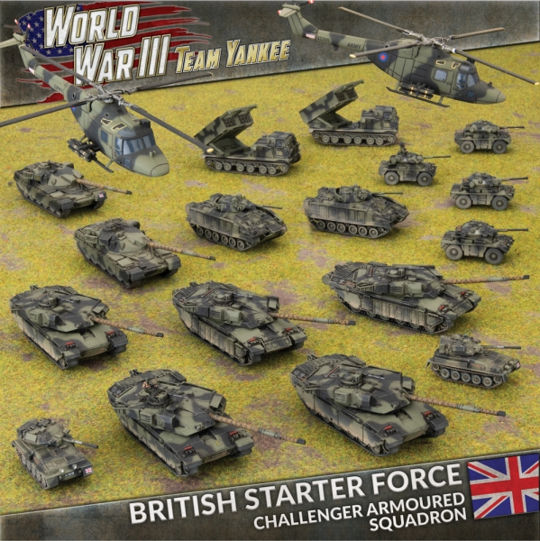 Team Yankee: (British) WWIII British Starter Force