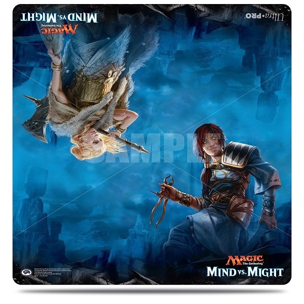 Magic the Gathering: Mind vs Might Duel Play Mat (24'' x 24'')
