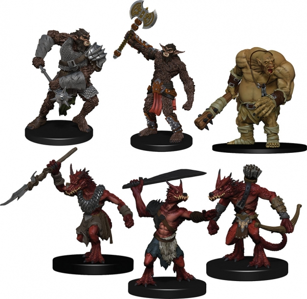 D&D Miniatures: Icons of the Realms Monster Pack - Cave Defenders