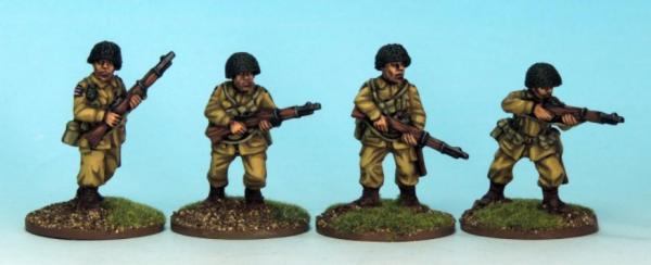 Crusader Miniatures: US Airborne Riflemen II (4)