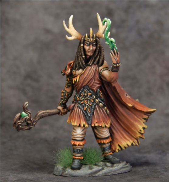 Visions In Fantasy: Male Druid with Staff