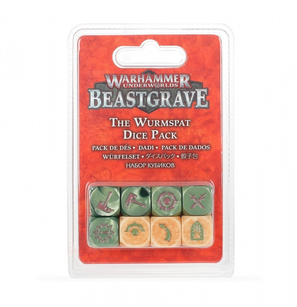 Warhammer Underworlds: The Wurmspat Dice Set