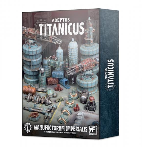 WH40K: Adeptus Titanicus - Civitas Imperialis Industrial Scenery