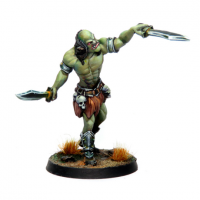 28mm Fantasy: Half Orc (1) (32mm)
