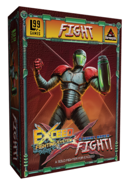 Exceed Fighting System: A Robot Named Fight! Expansion
