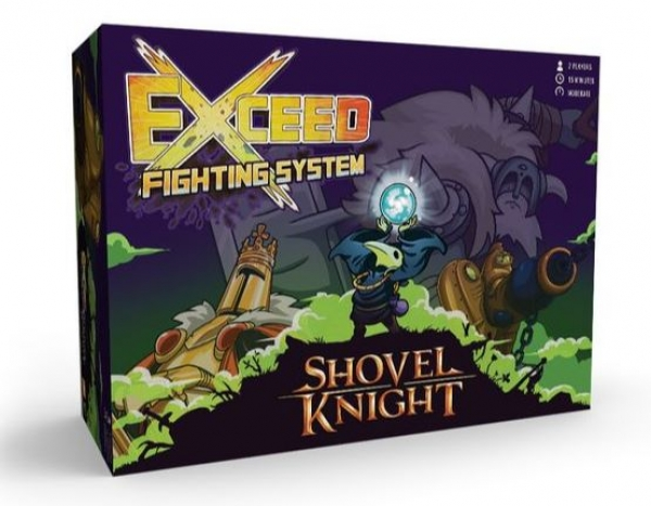 Exceed Fighting System: Shovel Knight - Plague Box