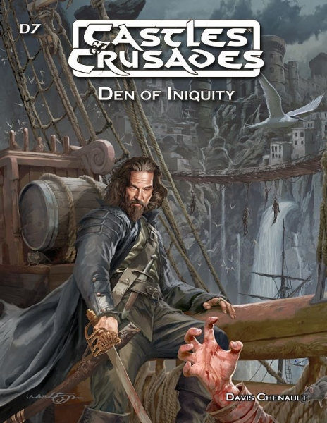 Castles & Crusades RPG: Den of Iniquity