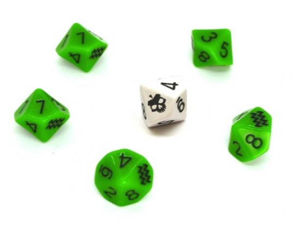 SLA Industries RPG: Dice Set (Second Edition)