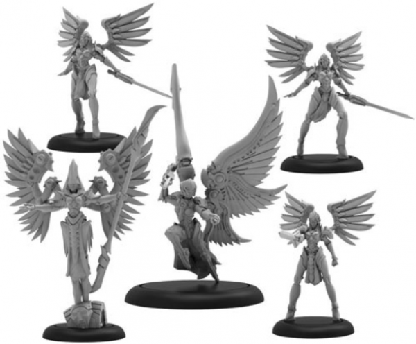 Warmachine: Archnumen Aurora – Convergence/Mercenaries Unit (metal/resin)