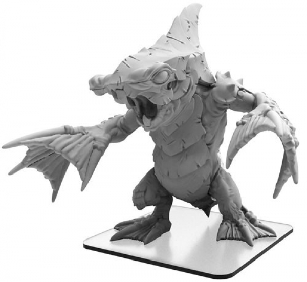 Monsterpocalypse: Leviathron – Monsterpocalypse Tritons Monster (metal/resin)