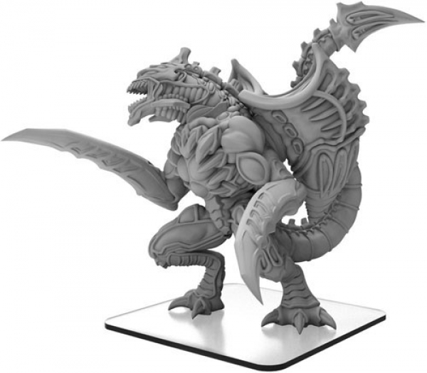 Monsterpocalypse: Megaton Mashup – Monsterpocalypse Gallamaxus (metal/resin)