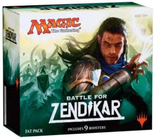 Magic CCG: Battle for Zendikar Fat Pack (1)