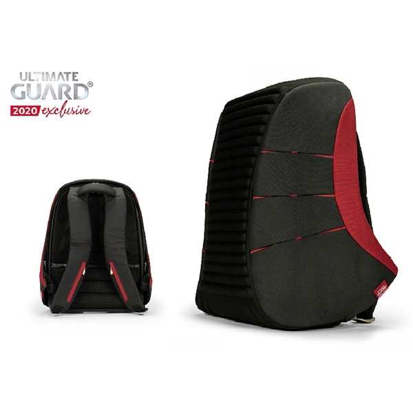 Backpack: Ammonite Anti-Theft Backpack - Black/Red (2020 Exclusive)