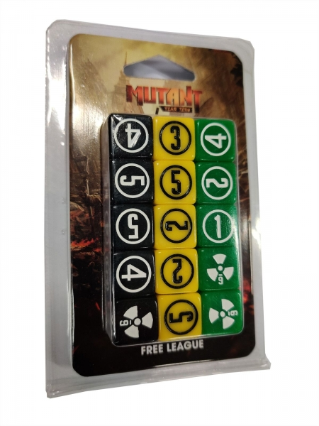 Mutant: Year Zero - Dice Set - New Design 2020