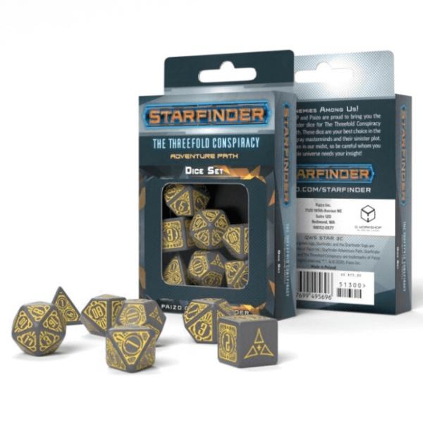 Starfinder: Threefold Conspiracy Dice Set