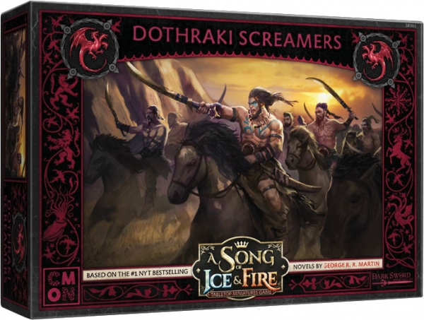 A Song of Ice & Fire: Tabletop Miniatures Game - Targaryen Dothraki Screamers Unit Box