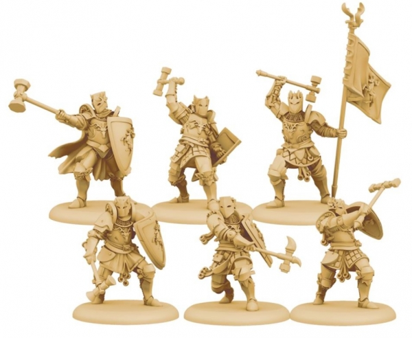 A Song of Ice & Fire: Tabletop Miniatures Game - Baratheon Wardens Unit Box