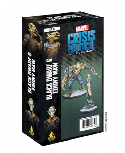 Marvel Crisis Protocol: Black Dwarf and Ebony Maw Character Pack