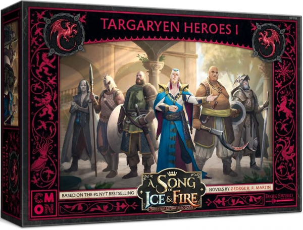A Song of Ice & Fire: Tabletop Miniatures Game - Targaryen Heroes I
