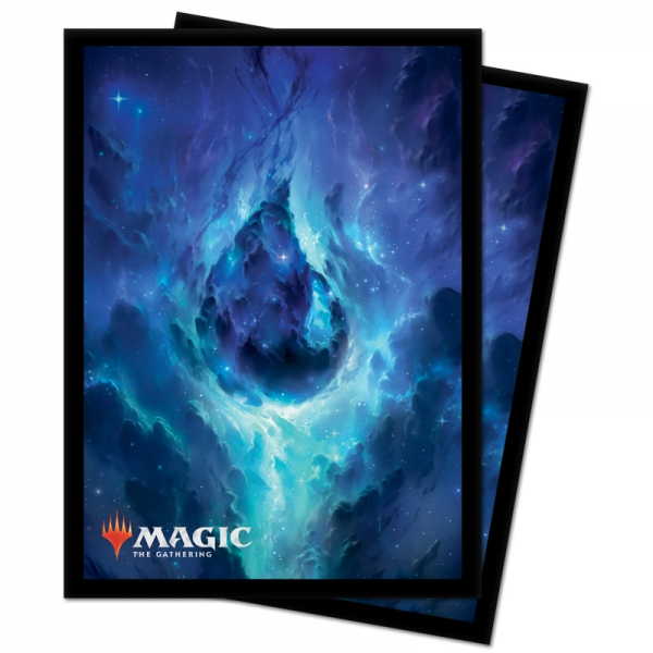 Magic: Celestial Land Deck Protector Sleeves - Island (100)