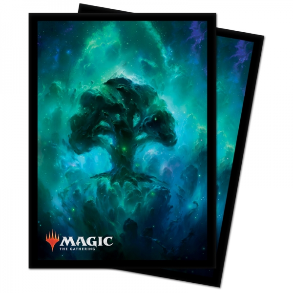 Magic: Celestial Land Deck Protector Sleeves - Forest (100)