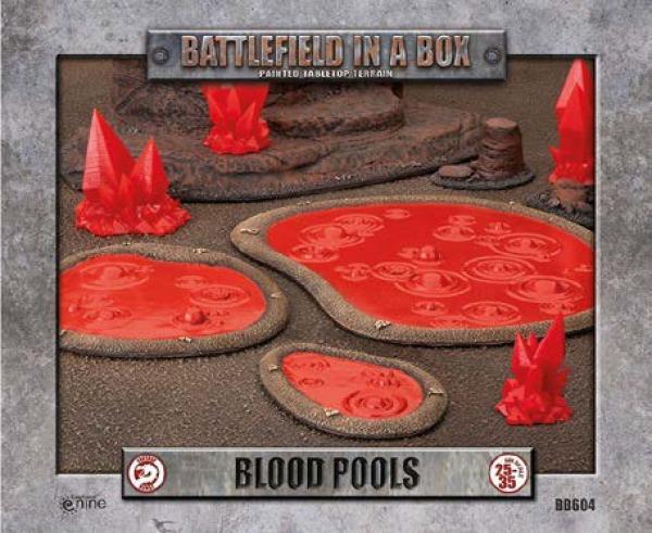 Battlefield in a Box: Blood Pools (x3) - 30mm