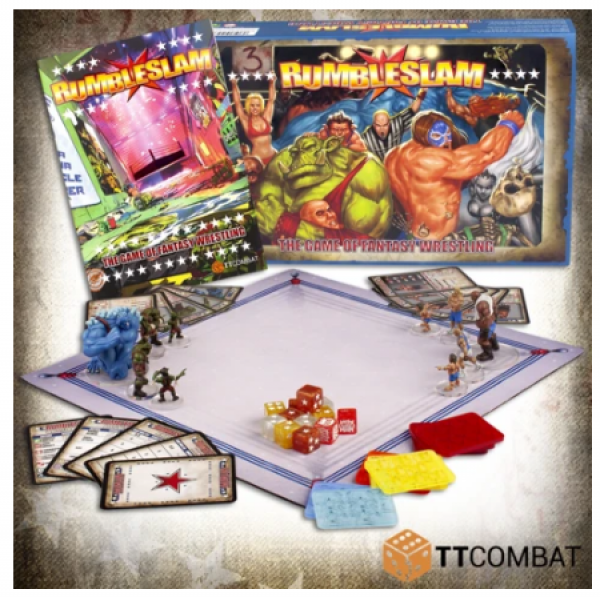 Rumbleslam: 2-Player Box Starter Box (2nd Edition Rulebook)