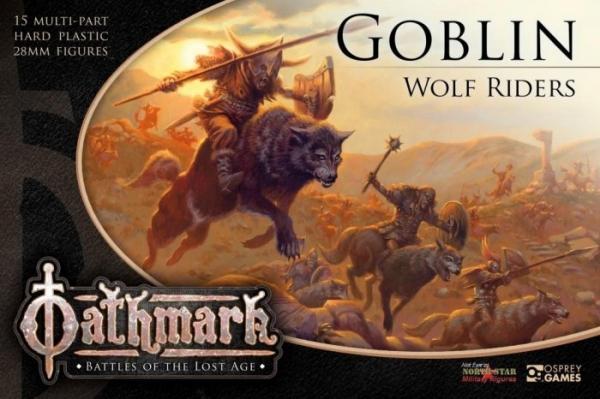 28mm Fantasy: (Oathmark) Goblin Wolf Riders (15)