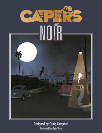 Capers RPG: Core Rules (HC)