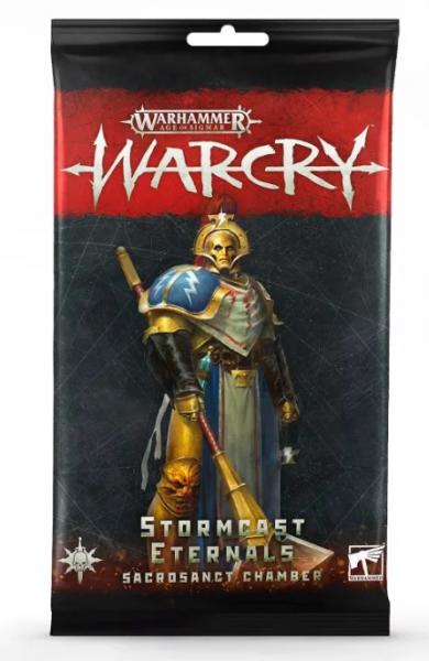 Warcry - Stormcast Eternals Sacrosanct Chamber Card Pack