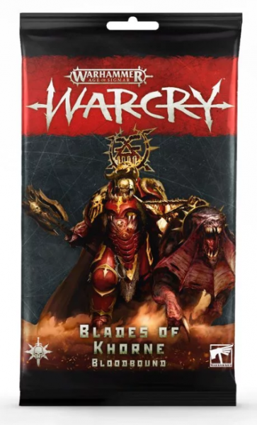 Warcry - Blades Of Khorne Bloodbound Card Pack
