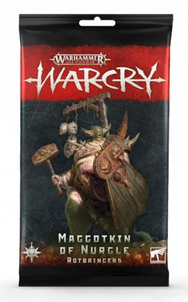 Warcry - Maggotkin of Nurgle Rotbringers Card Pack