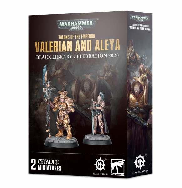 Warhammer 40K: Talons of the Emperor - Valerian and Aleya (Black Library Celebration)