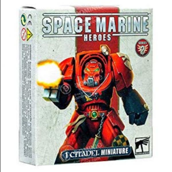 Warhammer 40K: Space Marine Heroes (One Blind Booster) Series 2