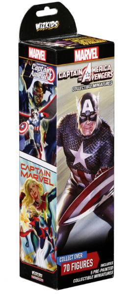 Marvel Heroclix: Captain America and the Avengers Booster Pack (1)