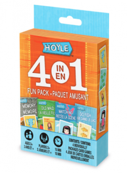 Hoyle 4 in 1 Fun Pack