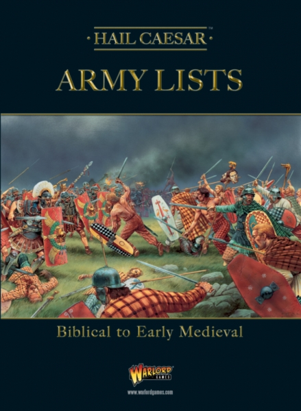 Hail Caesar: Army Lists - Biblical to Early Medieval