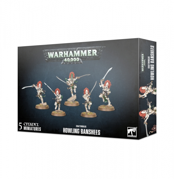 Warhammer 40K: Craftworlds Howling Banshees