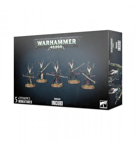 Warhammer 40K: Drukhari Incubi