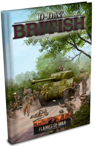 Flames Of War: D-Day - British (HC)