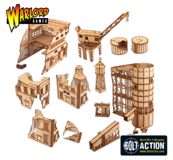 Bolt Action: Stalingrad Industrial Set (MDF)