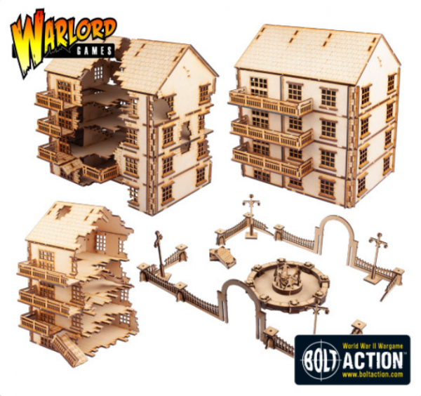 Bolt Action: Stalingrad Pavlovs House (MDF)