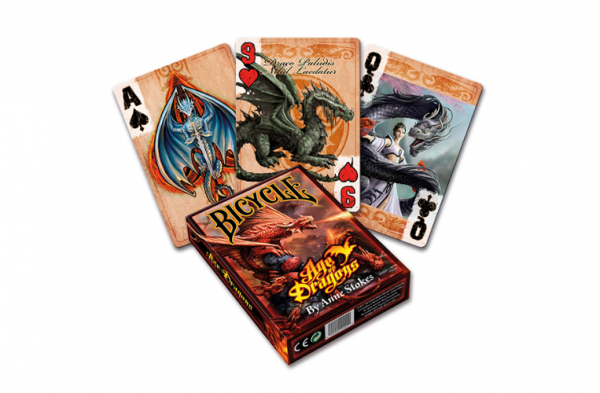 Bicycle Anne Stokes Age of Dragons Playing Cards (1 deck)