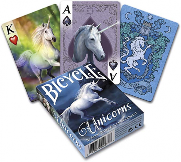 Bicycle Anne Stokes Unicorns Playing Cards (1 deck)