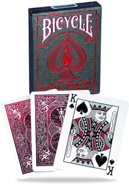 Bicycle Metalluxe Red Playing Cards (1 deck)