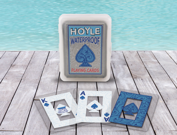 Hoyle Clear Waterproof Playing Cards (1 deck)