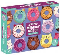 Shaped Memory Match: Cat Donuts