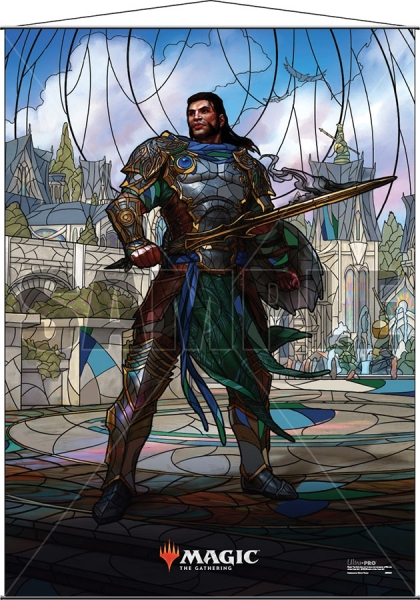Magic: Stained Glass Wall Scroll - Gideon