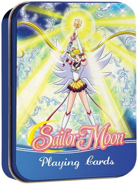 Sailor Moon Playing Cards Deck Tin